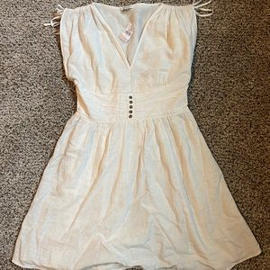 NWT American eagle white dress